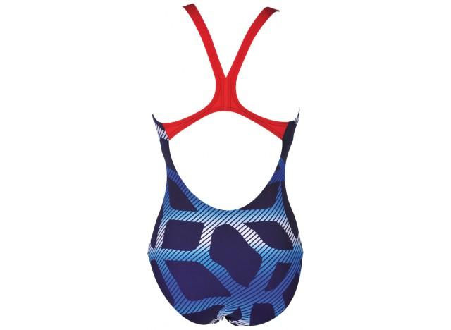 74d0448fc95390 Arena kostium treningowy Spider granatowy   Klubben