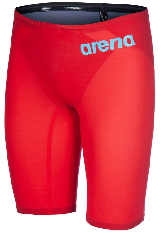 Arena Carbon Air2 jammer czerwony