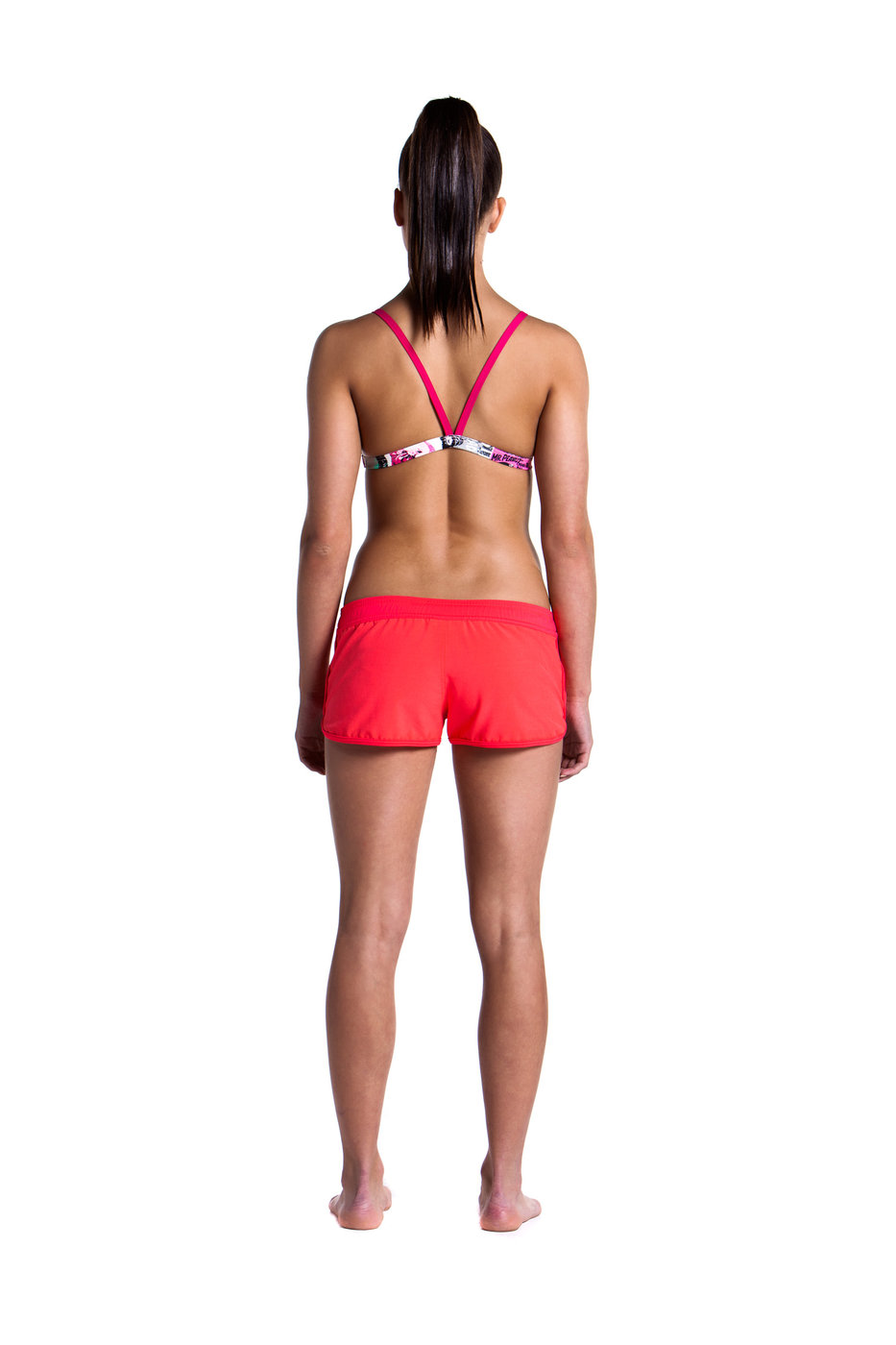 FUNKITA SZORTY DAMSKIE FLASH RED