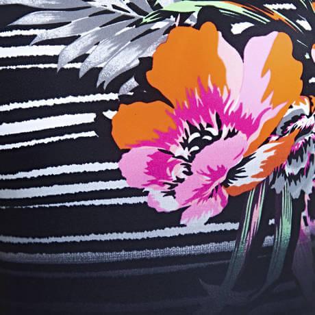 c5703267abb7dd kolorowy strój kąpielowy Zoggs Latino. ZOGGS KOSTIUM LATINO LOVE SCOOPBACK